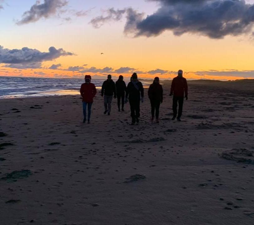 PEI Canada Dalvay Yoga Retreat Sunrise Beach Walk Dalvay