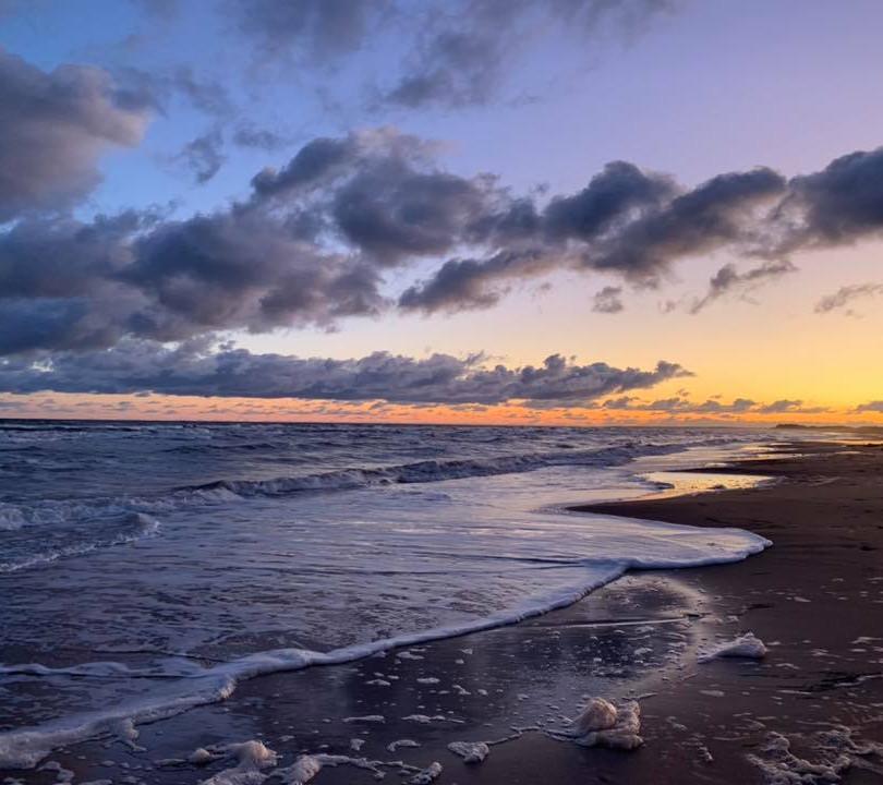 PEI Canada Dalvay Yoga Retreat Surnise at the Beach