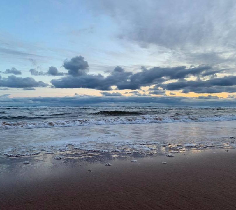 PEI Canada Dalvay Yoga Retreat Morning Beach