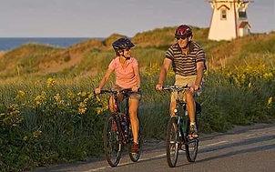 PEI Canada Dalvay Yoga Retreat Bike Ride Beach