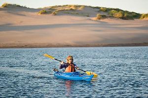 PEI Canada Dalvay Yoga Retreat Kayak