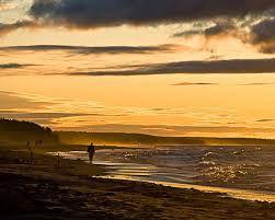 PEI Canada Dalvay Yoga Retreat Beach Walk Sunset