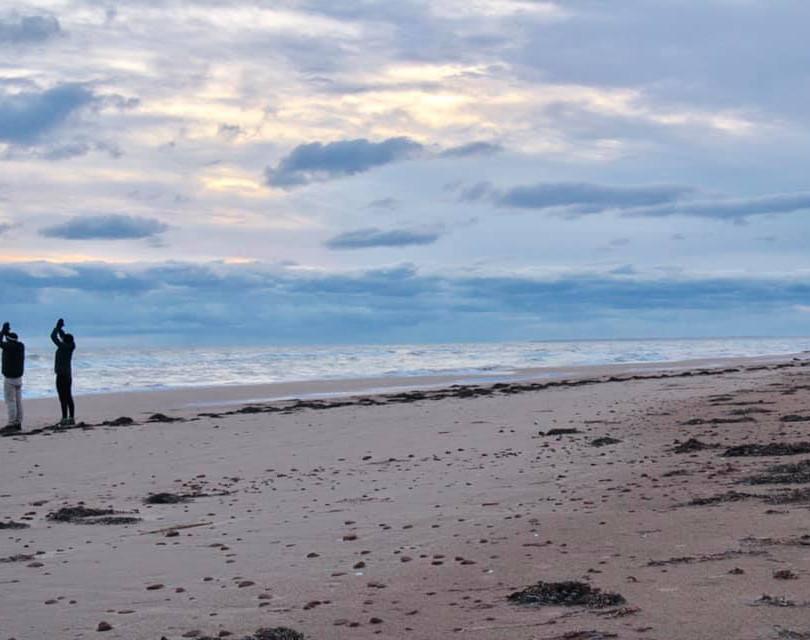 PEI Canada Dalvay Yoga Retreat Sunrise Sun Salutations2