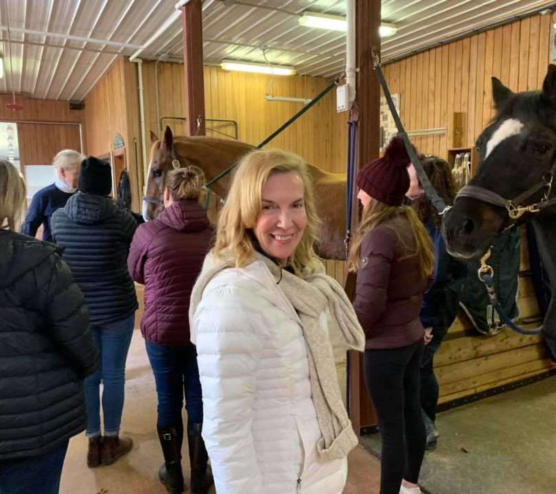PEI Canada Dalvay Yoga Retreat Horse Connection Program 3