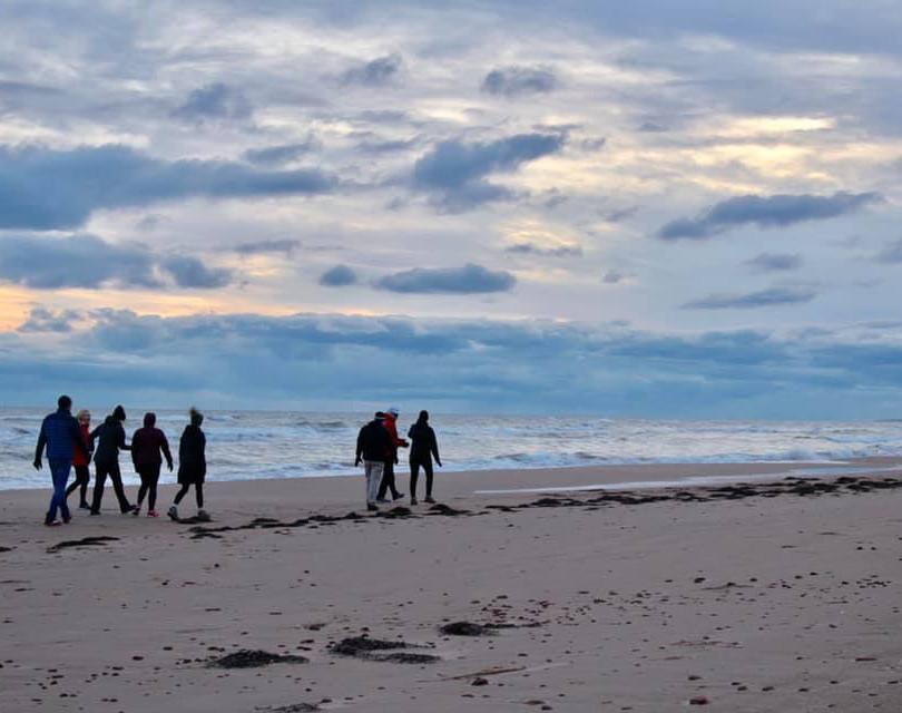 PEI Canada Dalvay Yoga Retreat Sunrise Beach Walk 2