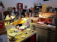 Atelier Buchbinden Skulpturen