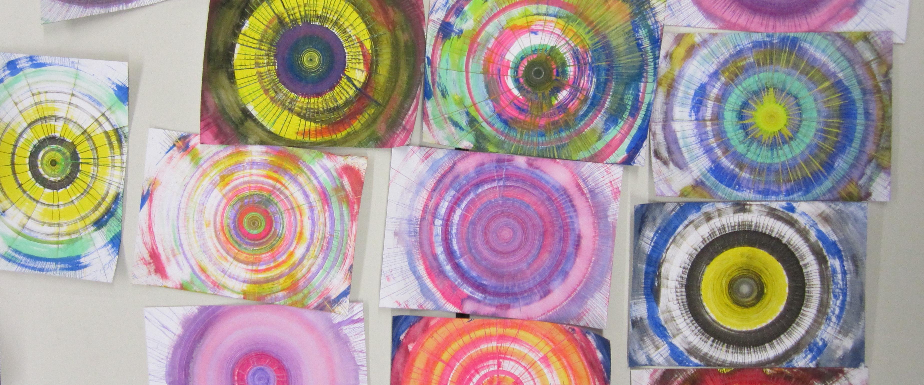 Farbschleuder Kunstschule Ahaus