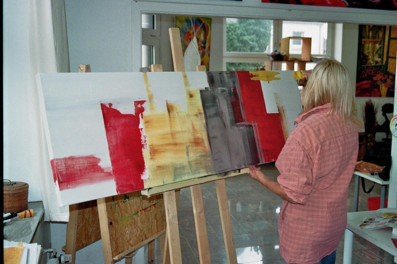 Workshops Acryl Malerei Ahaus