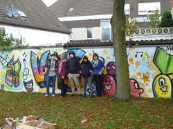 Graffiti Wand VHS Ahaus