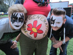 Bodypainting Ahaus MammaMia Festival