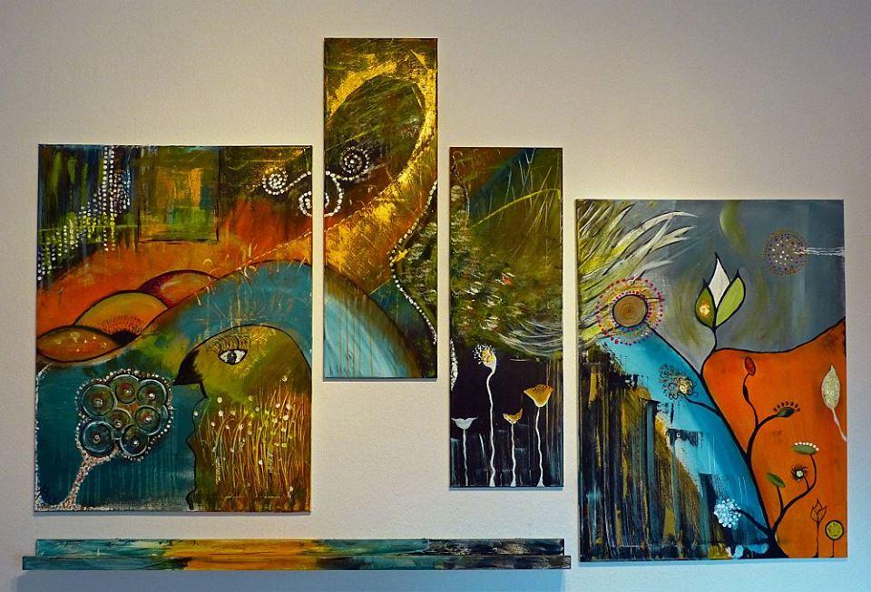Acryl Speedpaint Kunstschule Ahaus