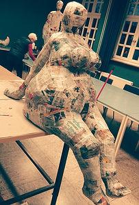 Skulpturen Workshop VHS