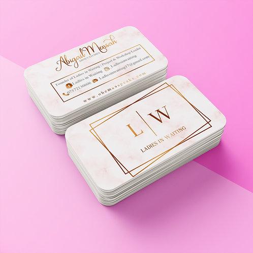 Matt Laminate Business Cards From
