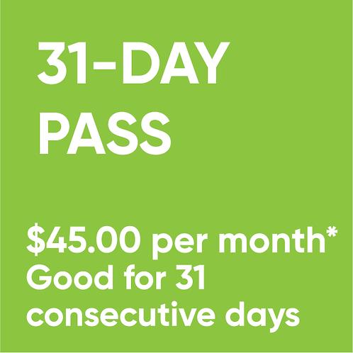 31-Day Pass