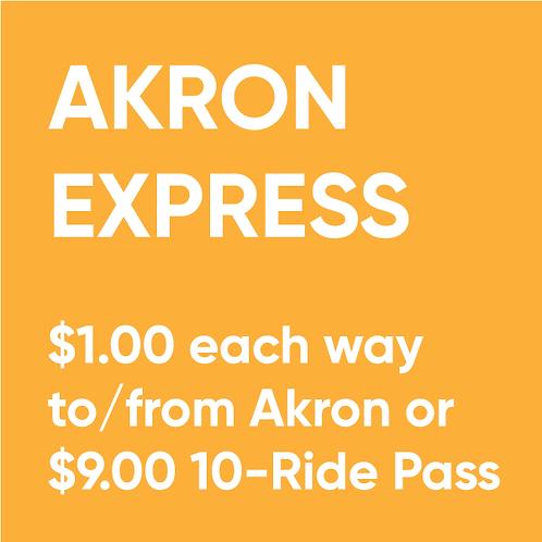 Akron Express 10-Ride Pass