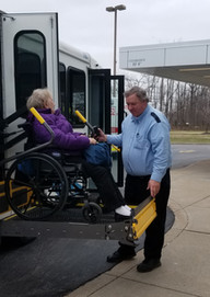 Eleanor Wargo, Pville with Driver Rick K