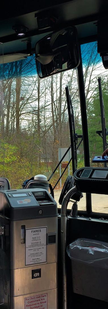 Laketran bus rider pays fare using EZfar
