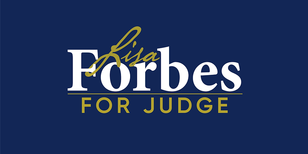Forbes for Judge Fundraiser