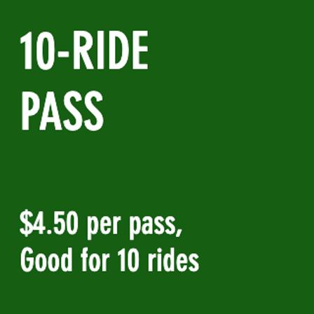 Reduced Fare 10-Ride Pass