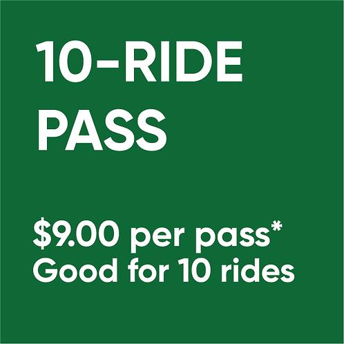 10-Ride Pass