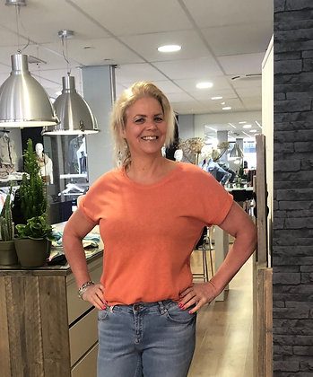 T-Shirt Fos Roest Oranje