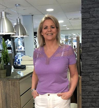 Shirt Morgan Lila