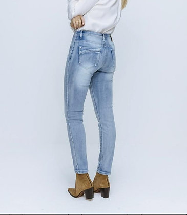 Broek Jeans Red Button Jimmy Light