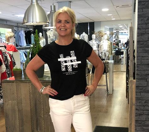 T-Shirt Elvira Zwart #