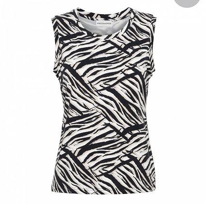 T-Shirt &CO Zebra Veere Singlet