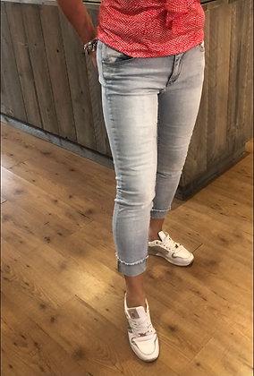 Broek Bianco Jeans 7/8 Omslag