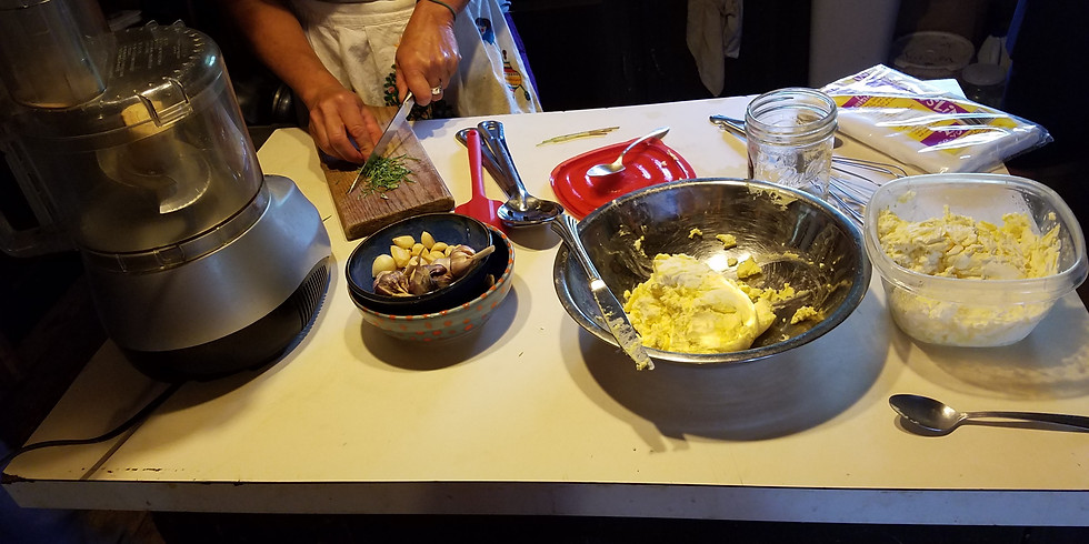 Butter, Yogurt & Cheese Making Class