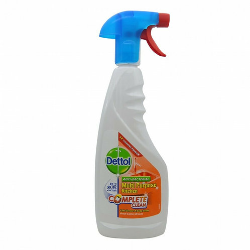 Dettol Complete Clean Antibacterial Kitchen Trigger Spray 440ml