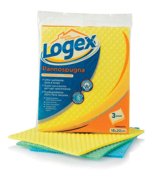 Logex Extra Strong Sponge Cloths x3