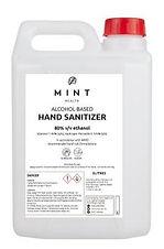 Alcohol based Hand Sanitizer 5L