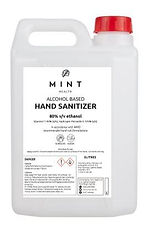 Alcohol based Hand Sanitizer 5L