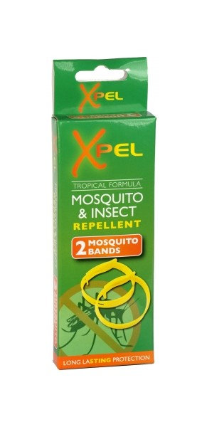 Xpel Mosquito & Insect Repellent Bands (2 Pack)