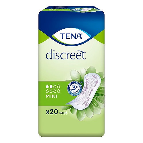 Tena Lady Mini Incontinence Towels x20