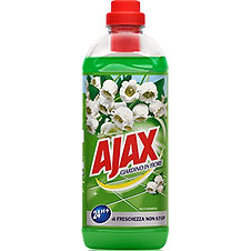 Ajax Green Flowers Floor Cleaner 1L