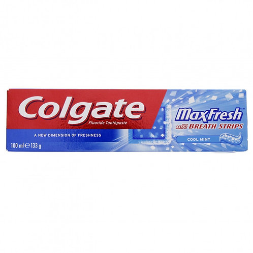 Colgate MaxFresh Cool Mint Toothpaste 100ml