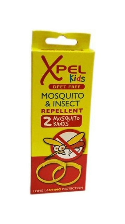 Xpel Kids Mosquito & Insect Repellent Bands (2 Pack)