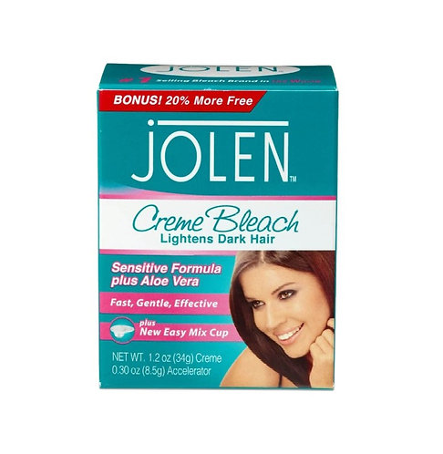 Jolen Sensitive plus Aloe Vera Creme Bleach 30ml
