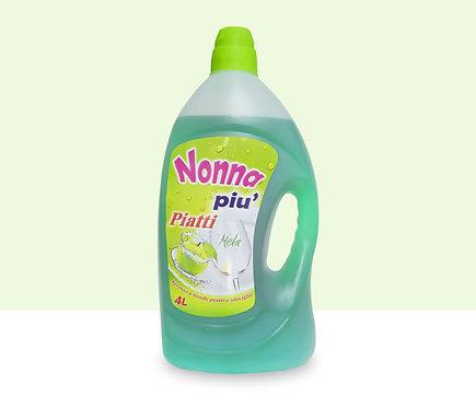 Nonna Piu' Apple Dishwashing Liquid 4L