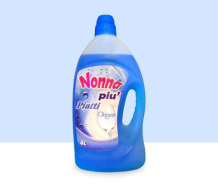 Nonna Piu' Oxygen Dishwashing Liquid 4L