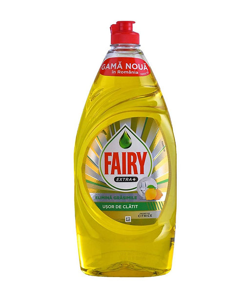 Fairy Extra + Citrus Aroma Dishwashing Liquid 900ml
