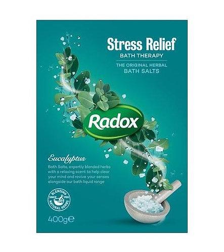Radox Stress Relief wih Eucalyptus Bath Salts 400g
