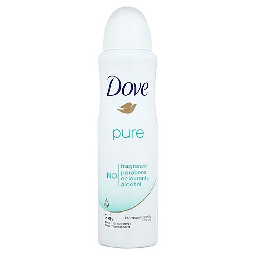 Dove Pure Deo 150ml