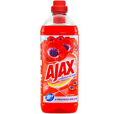 Ajax Red Flowers Floor Cleaner 1L