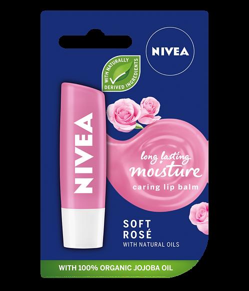 Nivea Soft Rose Lip Balm 4.8g