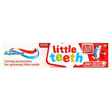 Aquafresh Kids Little Teeth (3-5 Years) Toothpaste 50ml