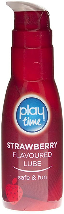 Playtime Strawberry Flavoured Lube 75ml
